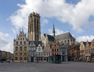 Mechelen. St Rumbolds Cathedral.